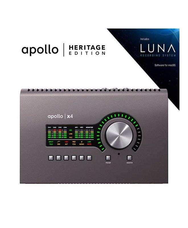 UNIVERSAL AUDIO Apollo x4 | Heritage...